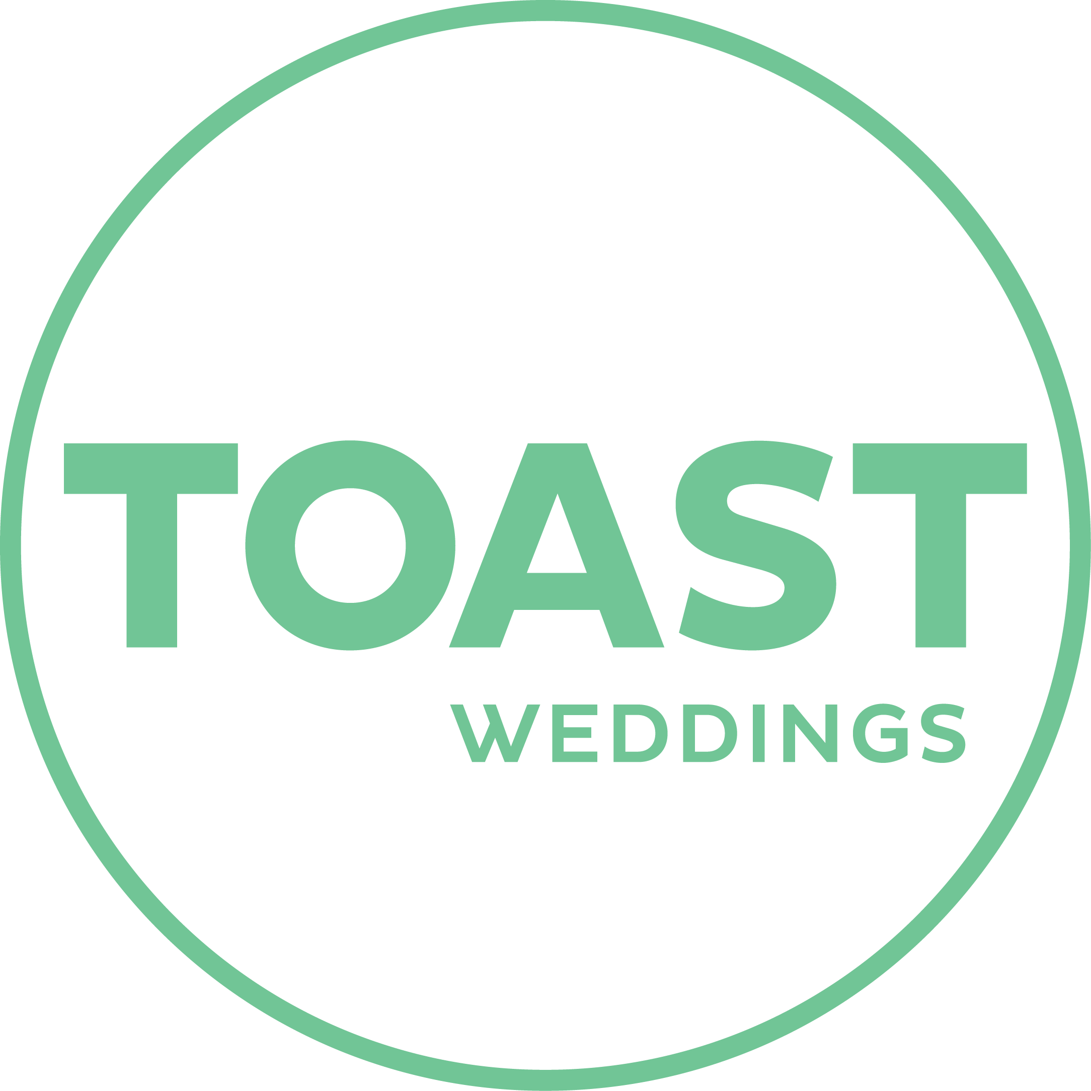 Toast Weddings