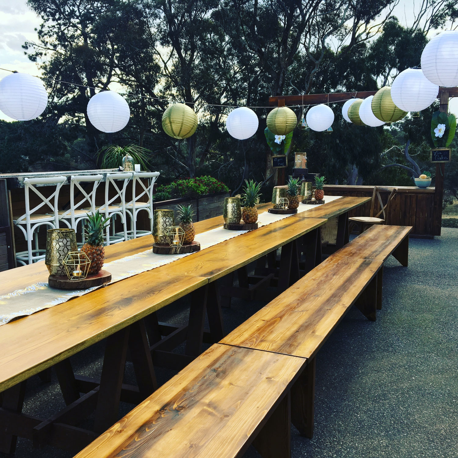 Toast weddings elderberry event marquee hire mornington peninsula